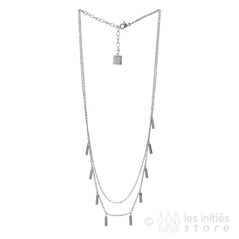 Collier garni de pendentifs Zag Bijoux