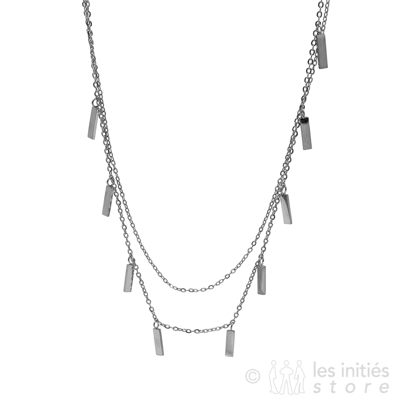 multipe charms necklace