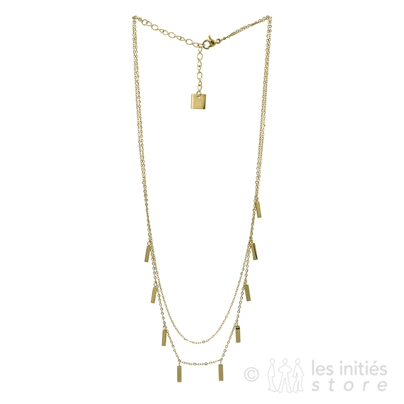 trendy necklace gold