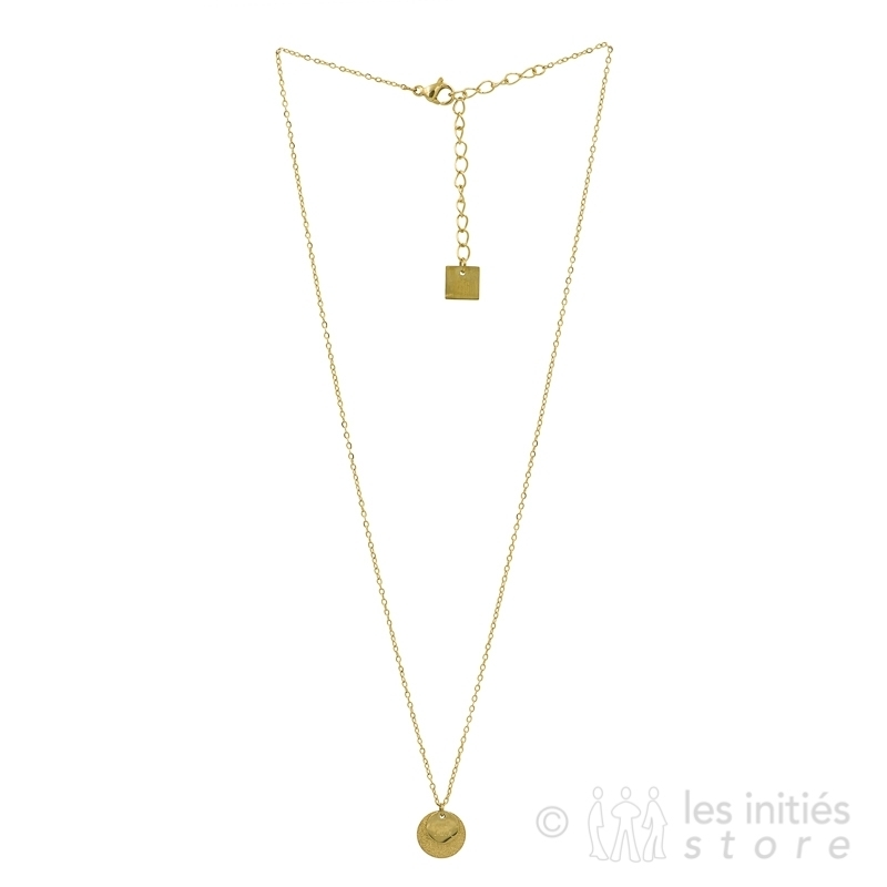 talismanic golden necklace