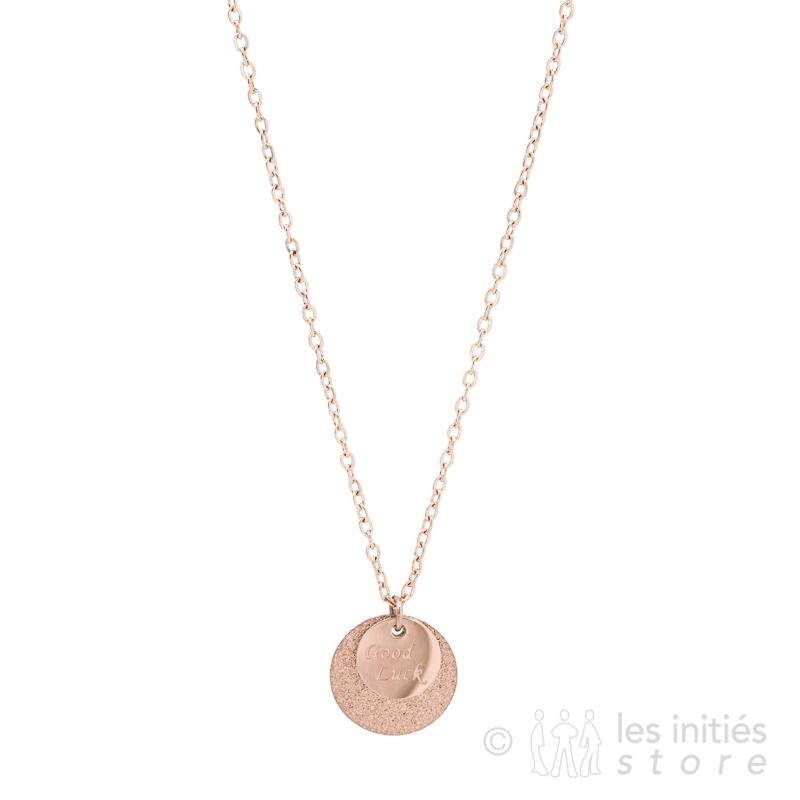 Médaille porte bonheur Zag Bijoux