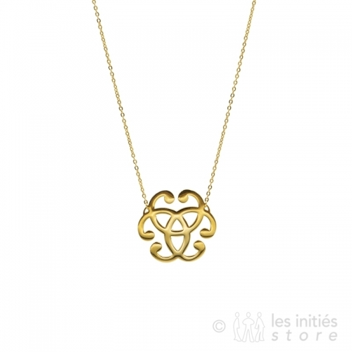celtic necklace gold