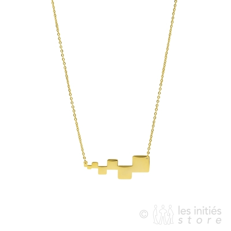 Collier Zag design anti-allergique