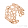 Ikita small circles ring - rose gold