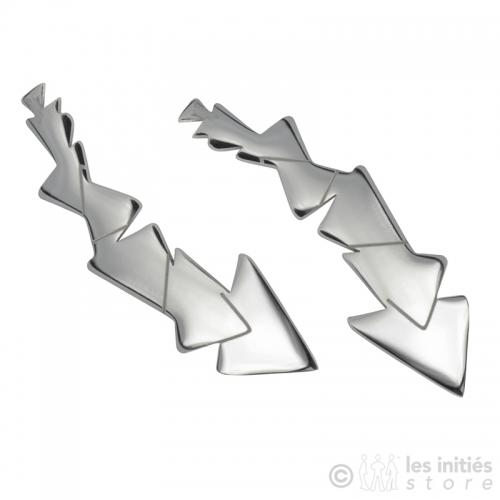 boucles d'oreilles petits triangles