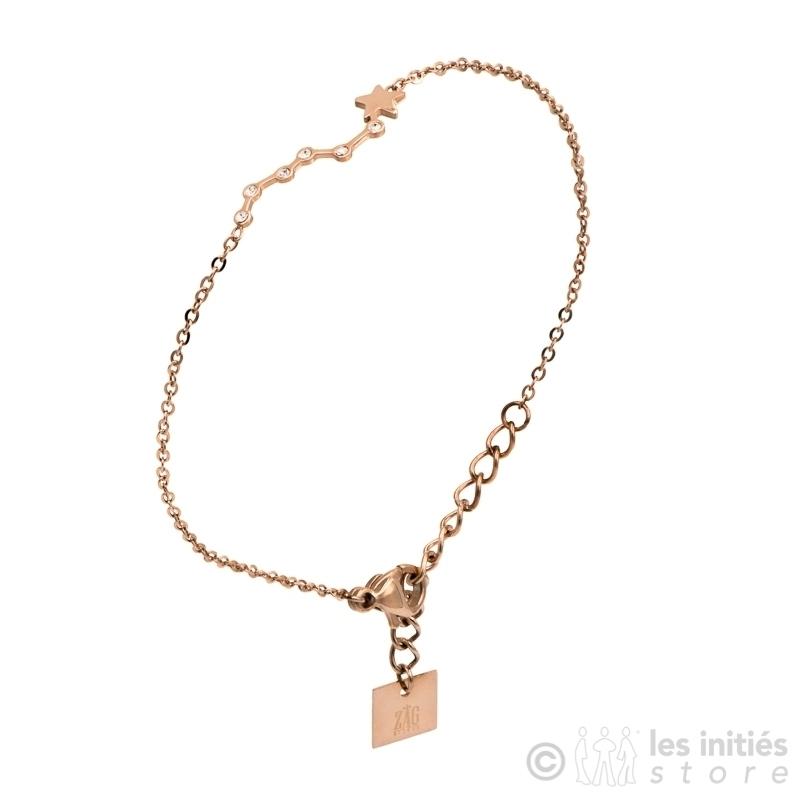 Bracelet ZAG étoiles anallergique