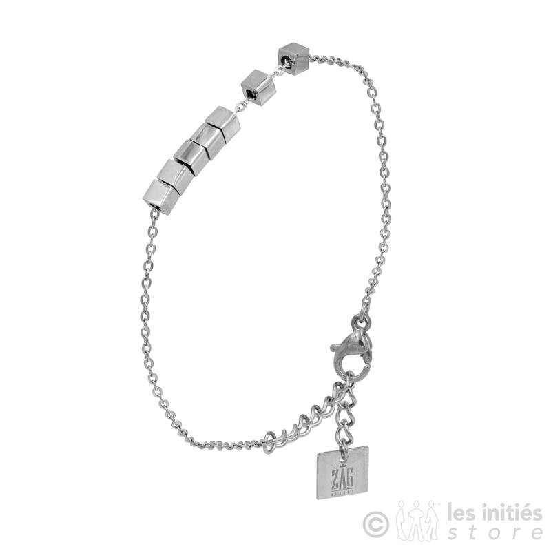 Bracelet Zag petits dés