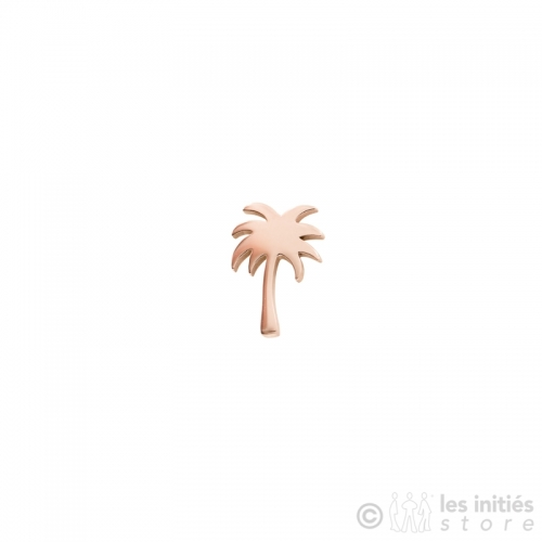 cute palm stud earrings