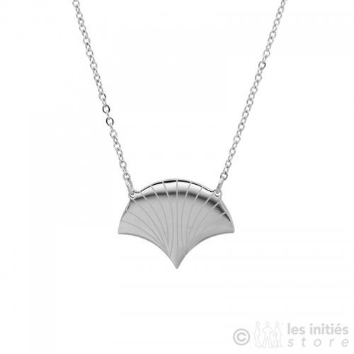 Zag Bijoux scallop necklace