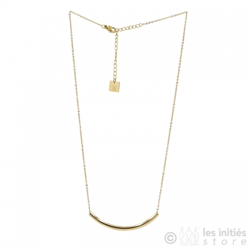 zag bijoux gold necklace