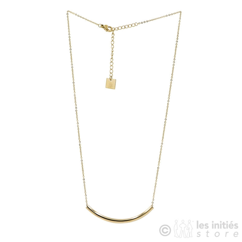 collier simple doré