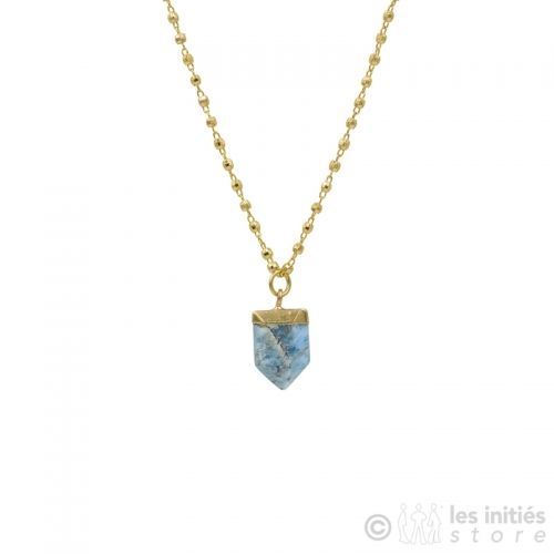 healthy stone necklace