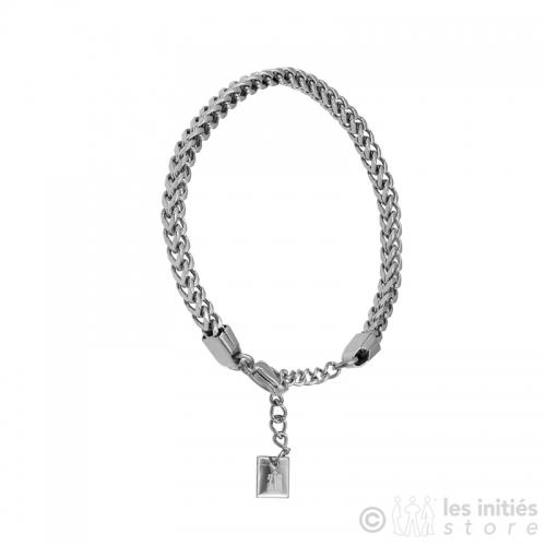 Bracelet chaîne carrée
