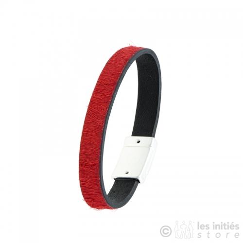 bracelet poulain rouge