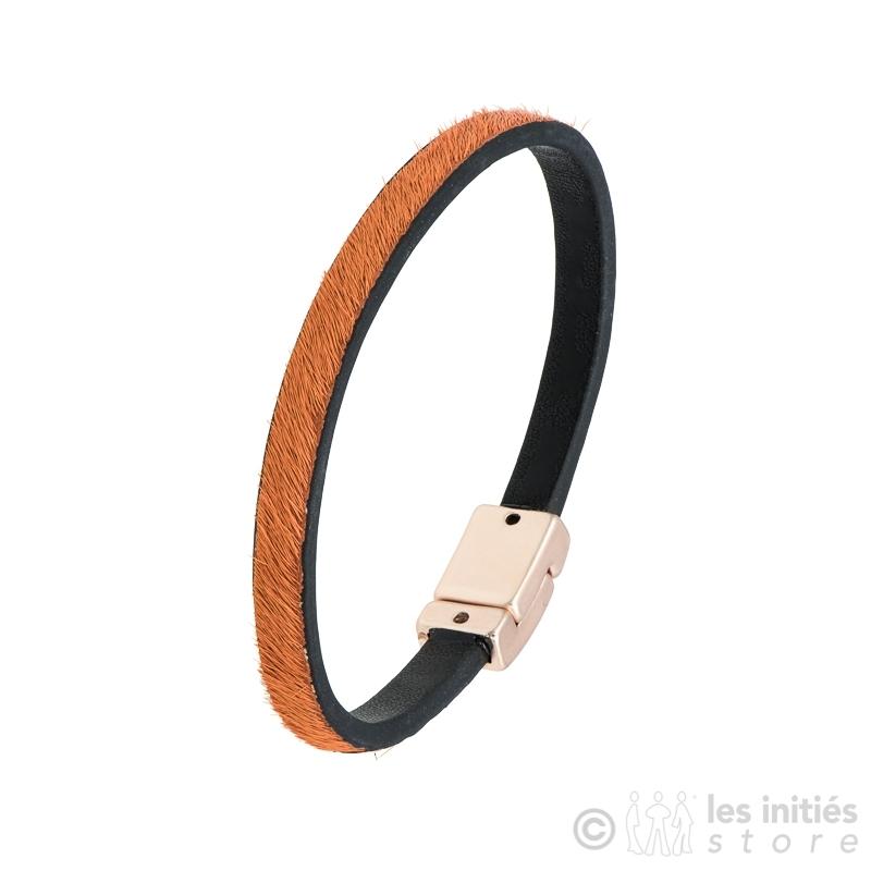 orange foal bracelet
