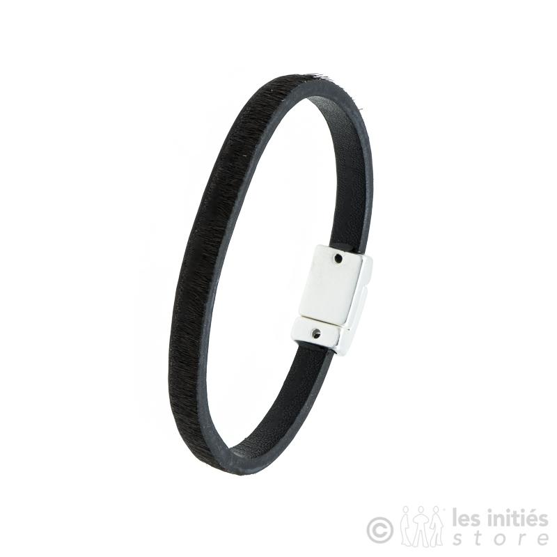 bracelet poulain marron