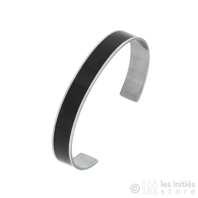 bracelet acier émaillé