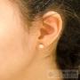 medium rhinestone earrings
