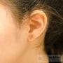 boucles d'oreilles puces huit