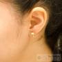 bijoux d'oreilles discrets