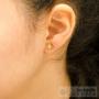 boucles d'oreilles petite étoile
