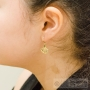 boucles d'oreilles coquillages