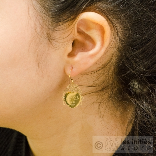 buddhist earrings