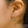 boucles d'oreilles style piercing