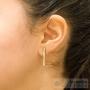 boucles d'oreilles articulées