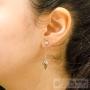 belles boucles d'oreilles