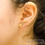 chemins d'oreilles ondulés