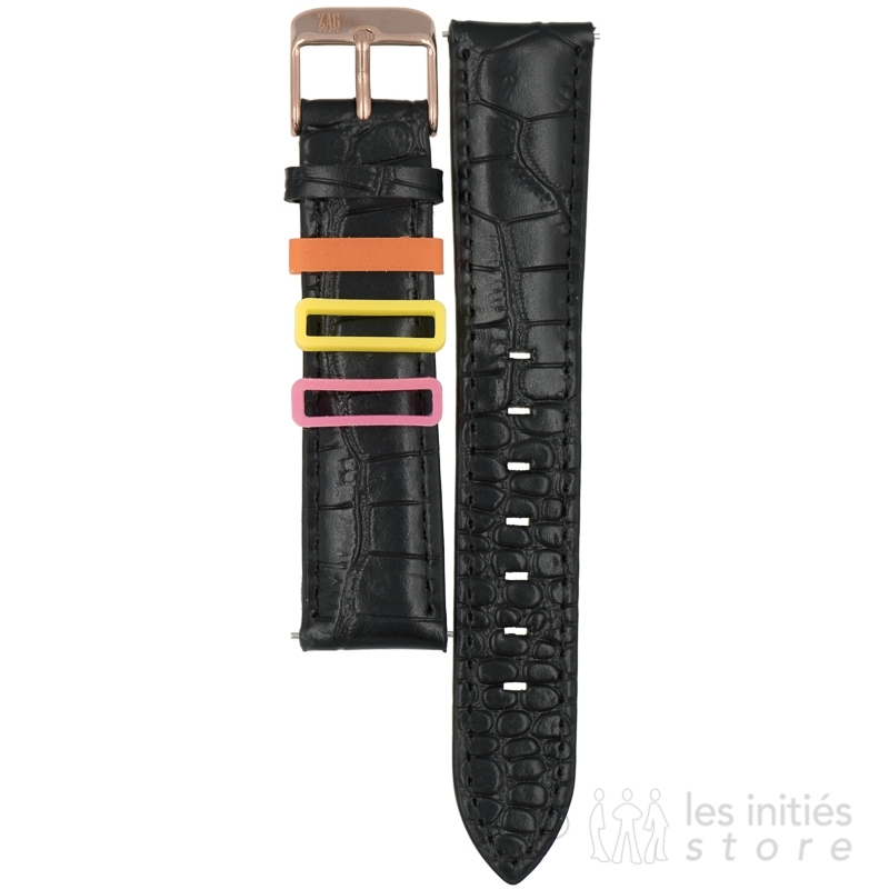 Crocodile trendy watch strap