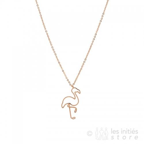 flamingo necklace