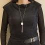 Collier bouddha porté