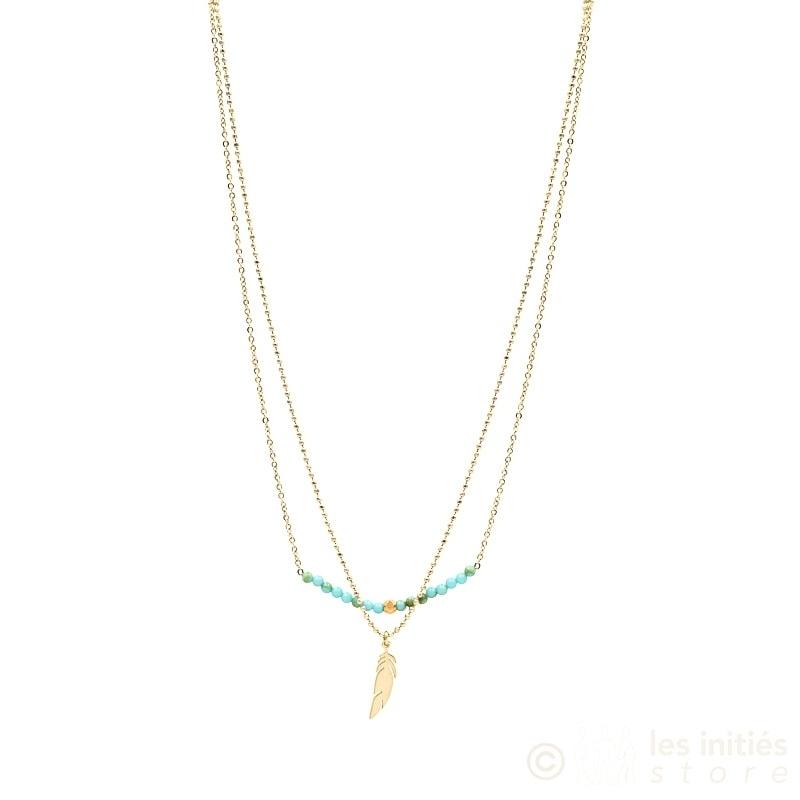 nouveau collier zag bijoux