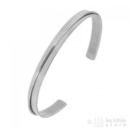 Zag bangle bracelet with...