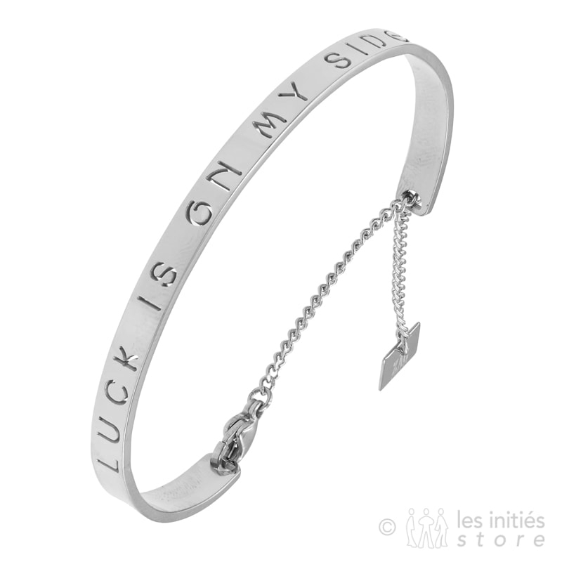 engraved bangle silver