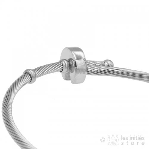 newbangle bracelet silver