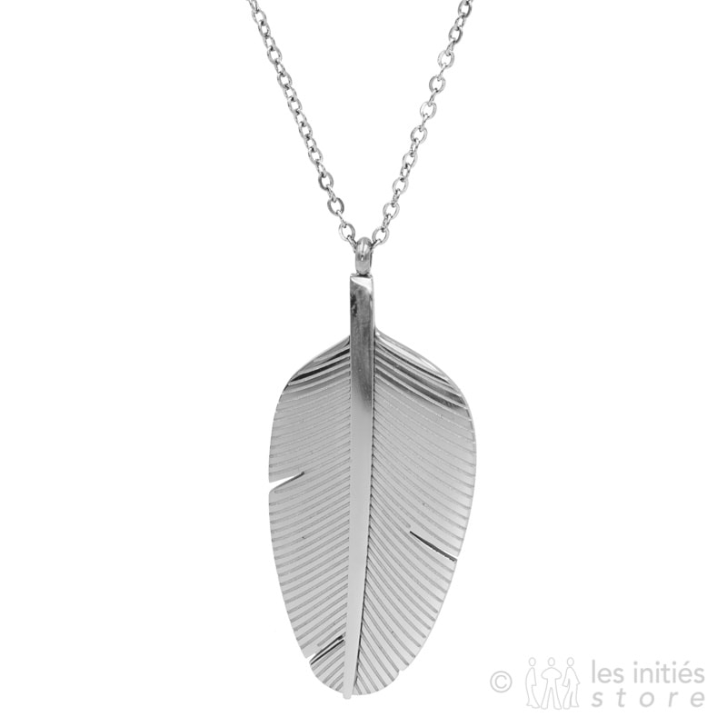 dressed necklace silver