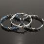 bracelets cables acier articulés