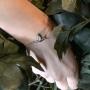 tiny bird bracelet
