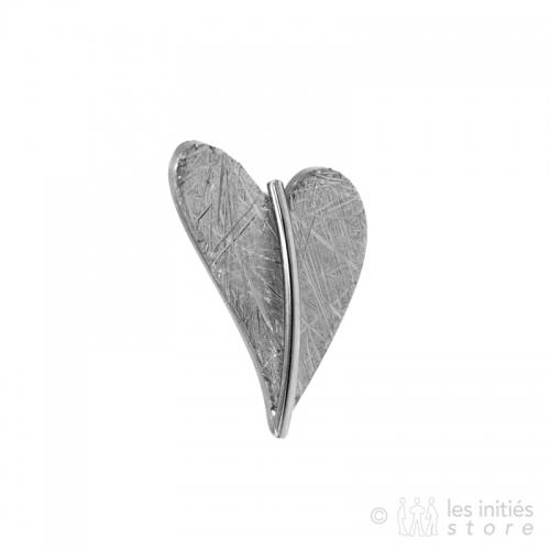 small heart earring