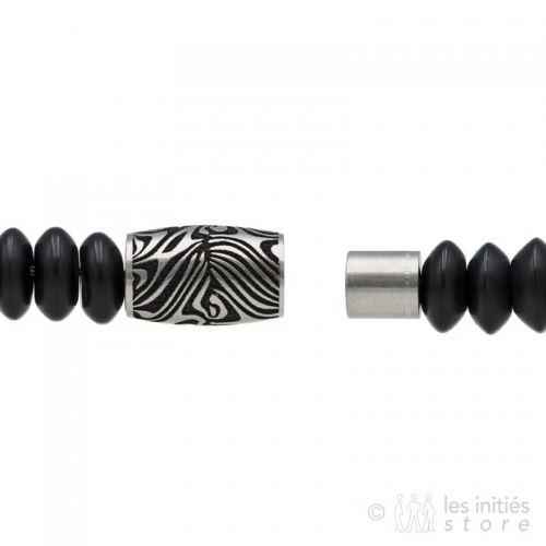 magnetic clasp men bracelet