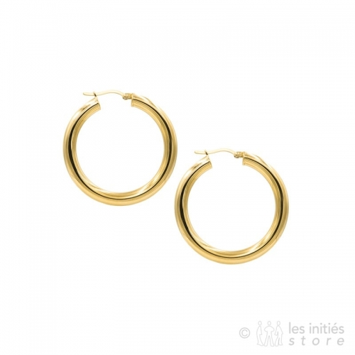 trendy french hoop earrings gold