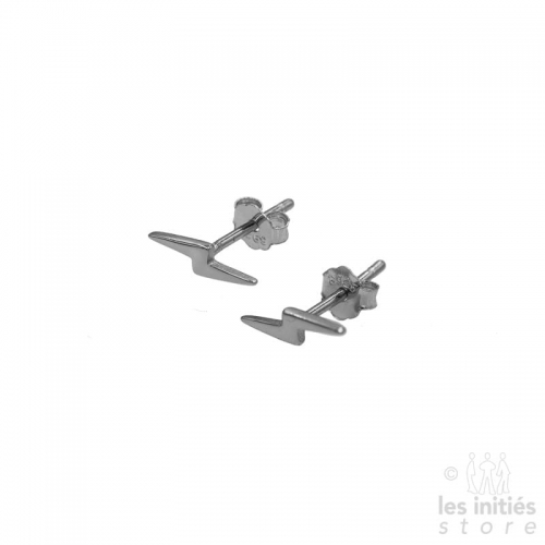 Les Initiés small flash earrings - 925 sterling silver