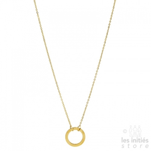 Les Initiés ring necklace - Gold