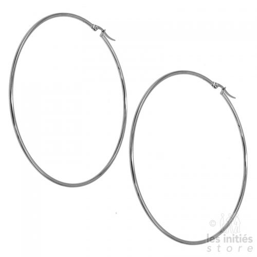huge hoop earrings 9 cm