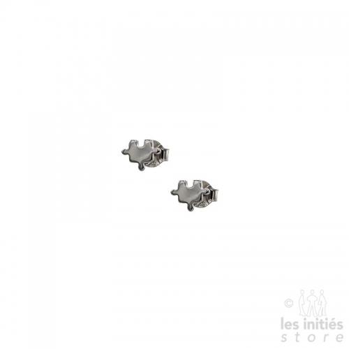 Boucles d'oreilles puzzle