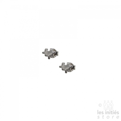 Les Initiés puzzle earrings - 925 sterling silver