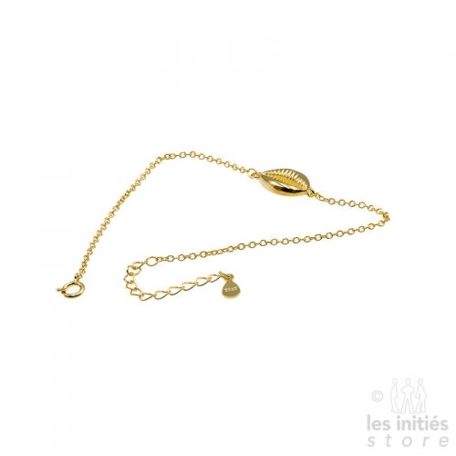 Les Initiés shell bracelet - Gold plated 925 Sterling Silver